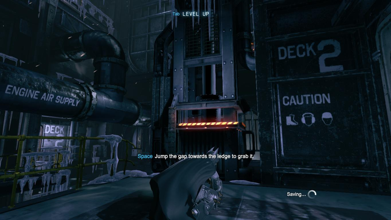 Batman Arkham Origins Walkthrough Gamezone Hitman Sniper Fuse Box Youll Come Up To The Pump Entrance Room Pass Thru A Metal Gate Go Ahead And Pull Down Weak Roof There Theres