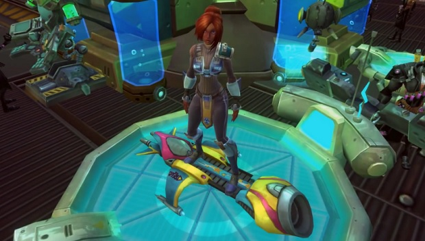 wildstar mount customization